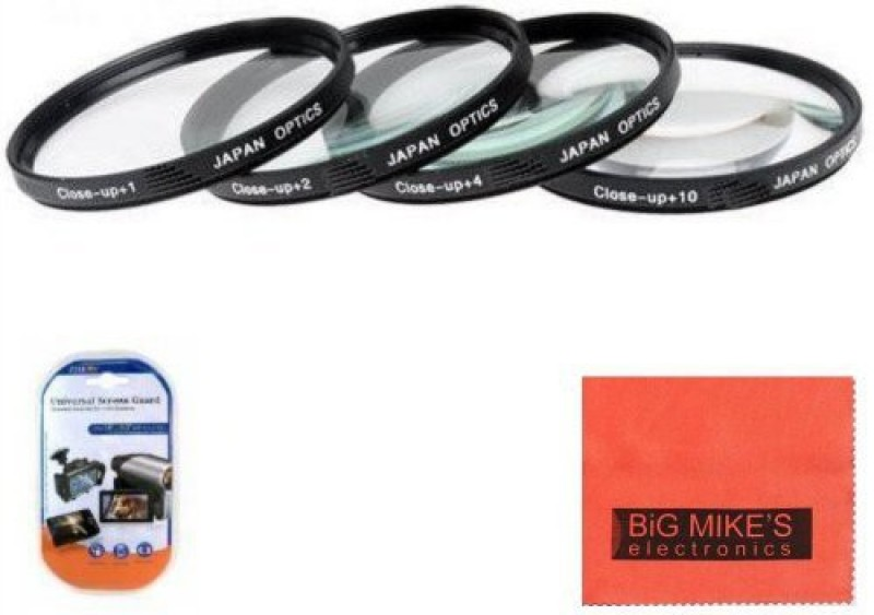 Big Mike s 77Mm Close-Up Filter Set (+1, +2, +4 And +10 Diopters) Magnification Kit Close-up Filter(77 mm) 1