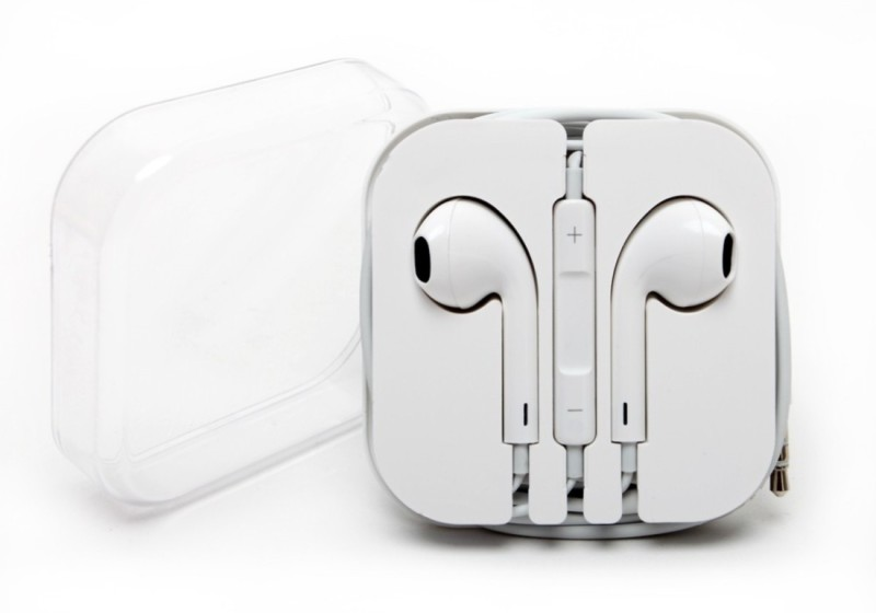 Autoplus Apphone Headset with Mic(White, In the Ear) 1